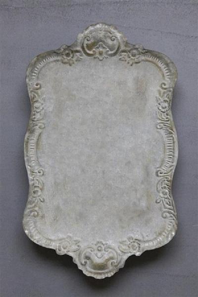 Decorative Metal Distressed Tray