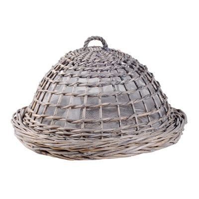 Weathered Wicker Food Keeper