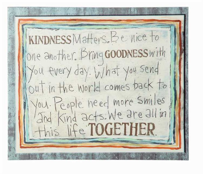 Kindness Matters Canvas