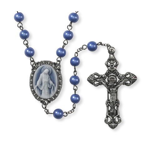 Cameo ROSARY - Our Lady of Grace