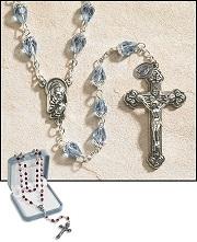 Tears of Mary Rosary - Blue