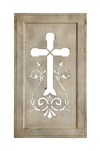 Tin Cross Wall Art - Origianl Price $148