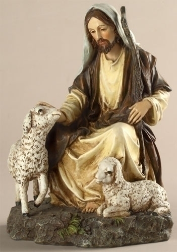 The Good Shepherd Figure