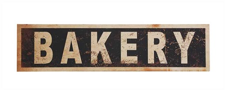 Vintage Reproduction BAKERY sign