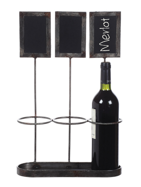 Chalkboard Wine Holder or  HERB PLANTER?!