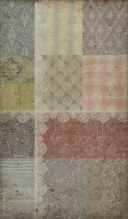 "NEW PATTERN JUST IN - ""Country Lace Quilt - Decorator Paper"""