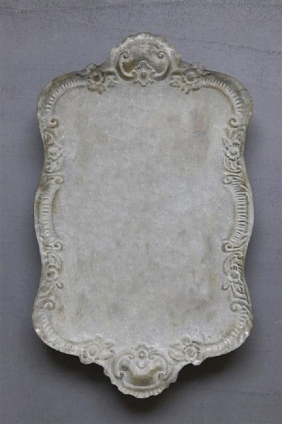 Decorative Metal Distressed Tray