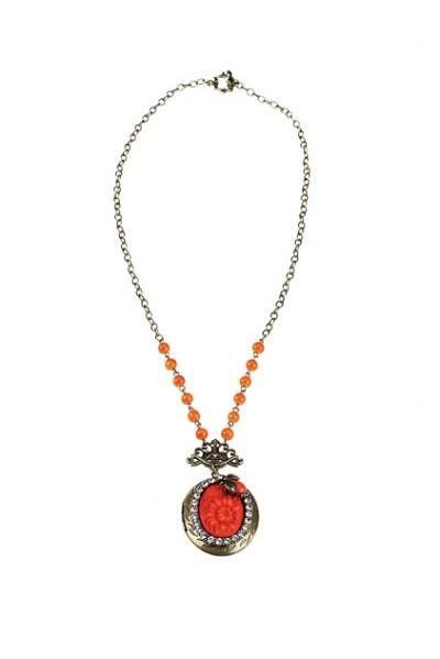 Garden's Grace Locket Necklace, Originally $28, Now $18