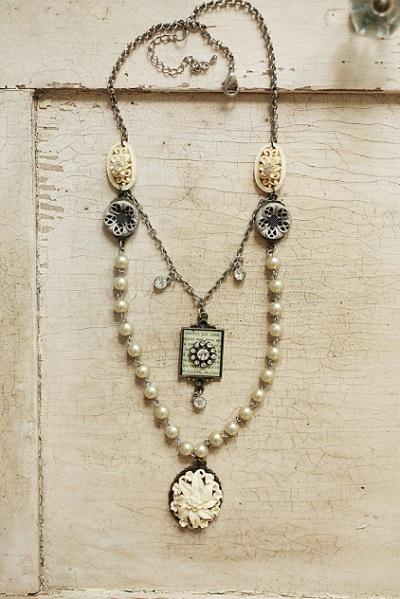 Vintage Pearl Necklace, Originally $32, Now $25