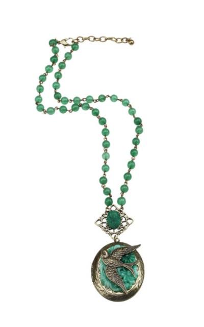 Eden Locket Necklace, Was $32, Now $18