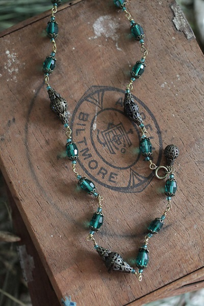 Green With Envy Necklace, Originally $42, Now $30